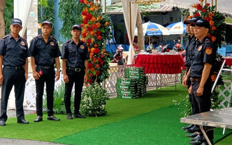 Công ty bảo vệ tại Tây Ninh