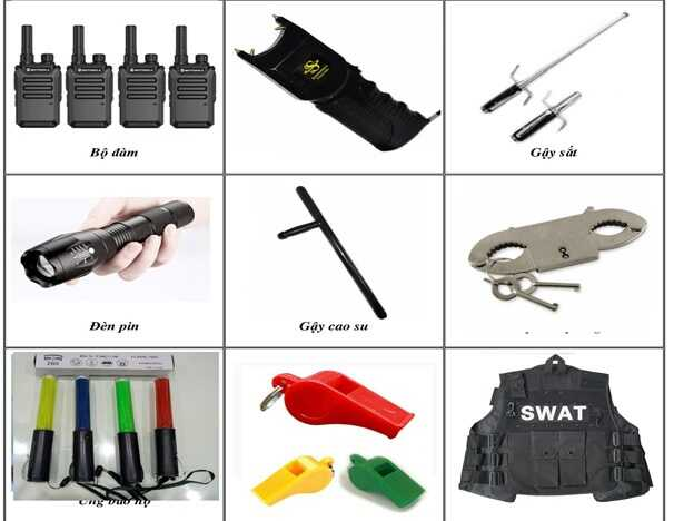 công cụ hỗ trợ bảo vệ sự kiện